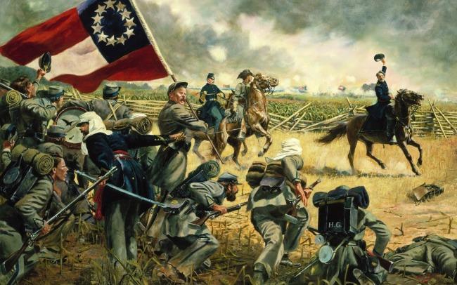 American-Civil-War-Wallpapers-Art-Painting