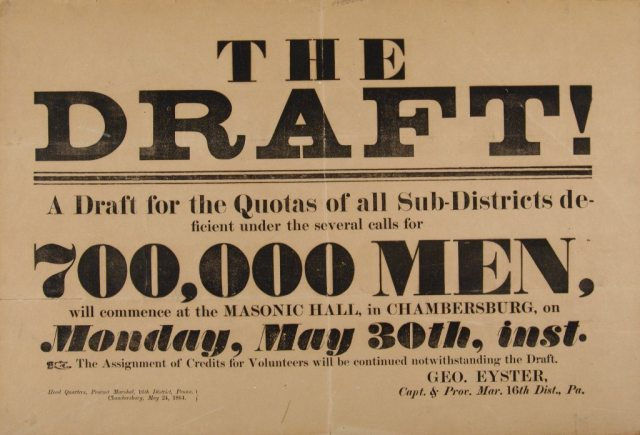 Draft-notice